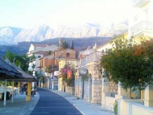 Traumhafte Straßen in Kroatien