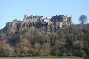Alte Burg in Schottland